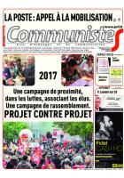 Journal CommunisteS n°660 du 7 décembre 2016