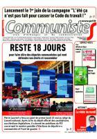 Journal CommunisteS n°682 24 mai 2017
