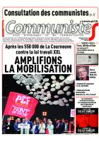Journal communisteS n°693 20 septembre 2017