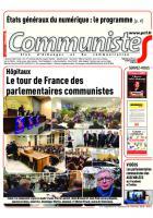 Journal CommunisteS n°712 7 février 2018