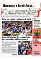 Journal CommunisteS n°733