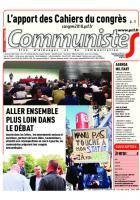 Journal CommunisteS n°740