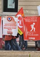 Plusieurs milliers de personnes défilent contre l'austérité et pour de nouveaux droits sociaux dans l'Hérault.