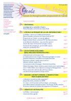 La lettre du Réseau école - Juillet 2013 : les pièges de la « priorité à l'école ».