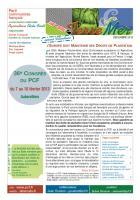 Terre-mer spécial viticulture (décembre 2012) : L'EUROPE DOIT MAINTENIR SES DROITS DE PLANTATION !