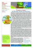 Terre-Mer - Juillet-août 2015 : PLANÈTE ET CLIMAT UNE RÉFORME AGRAIRE INTERNATIONALE.