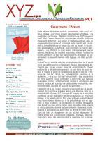 XYZ - lettre du secteur ESR du PCF -septembre 2013 : Construire l'avenir.