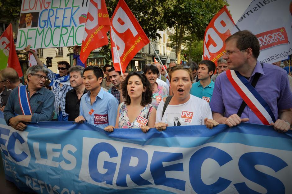 Non à l'austérité! Oui à la démocratie! - Retour en images sur la manifestation du 2 juillet