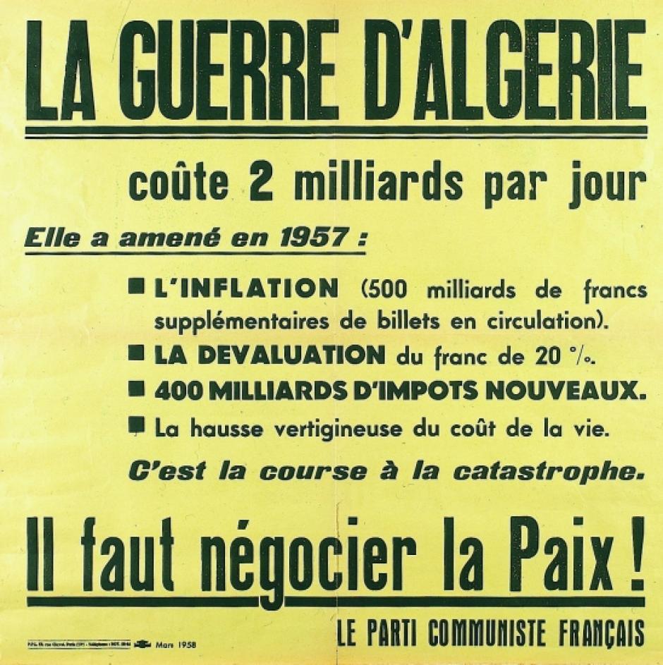 Cessez-le-feu en Algérie-19 mars 1962