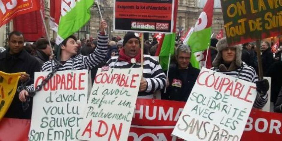 Vote Amnistie/Licenciements boursiers : Le PCF appelle au rassemblement jeudi 16 mai à 12h