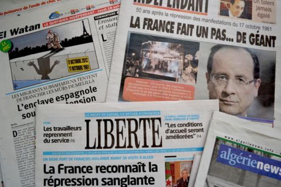 Hollande à Alger : « Reconnaître enfin la réalité du colonialisme et des crimes d'État »
