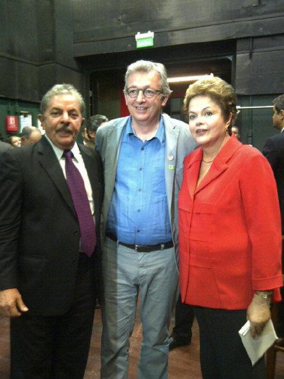 Pierre Laurent achève sa visite au Brésil
