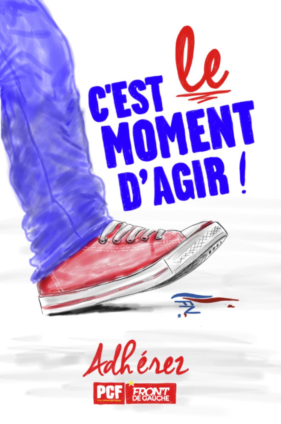 Pour faire vivre l'espoir à Gauche, Soyons à la hauteur des enjeux dans l'Hérault.