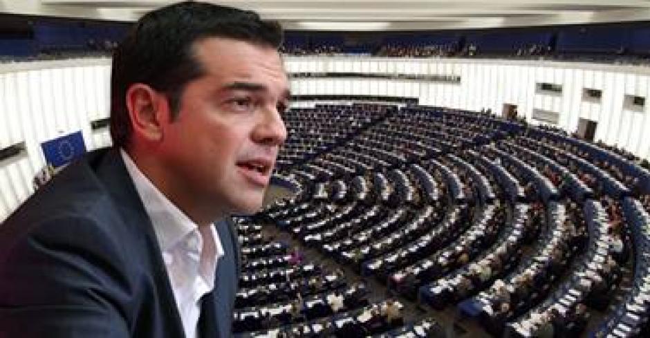 Discours Alexis Tsipras au siège du PCF