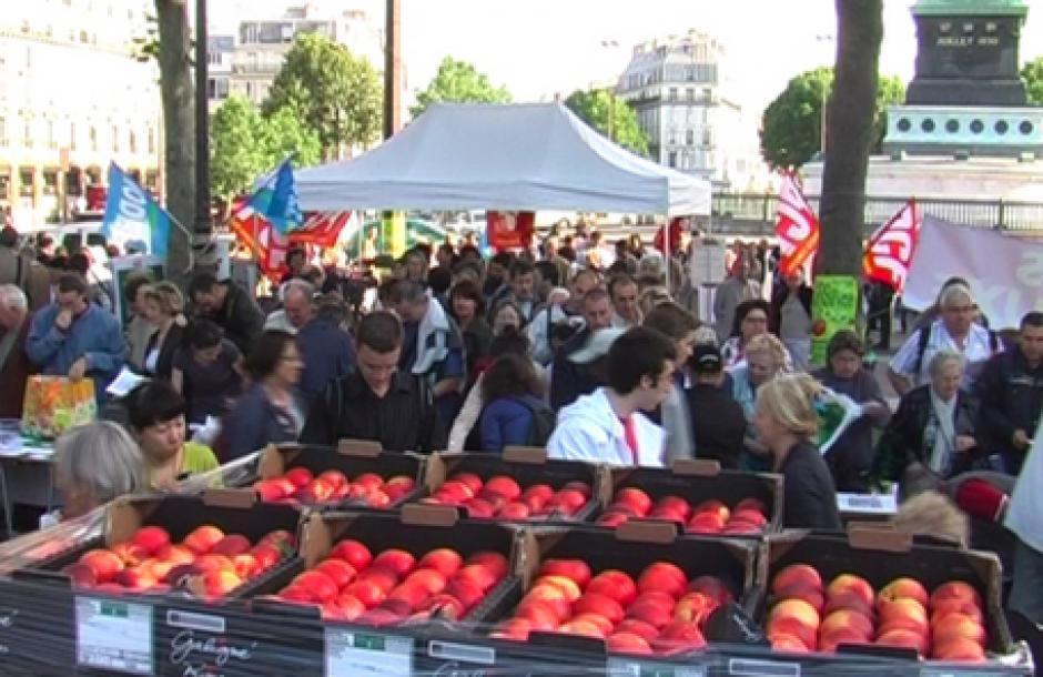 Vente solidaire jeudi 22 août à Paris des fruits et légumes de qualité à la portée de tous et livraison directe au Premier ministre