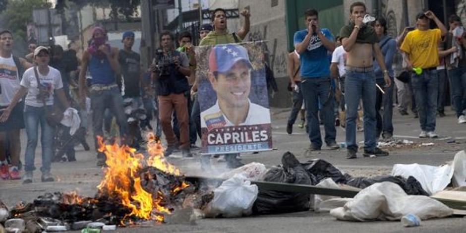 Venezuela : Le PCF condamne les tentatives de l'opposition de déstabilisation