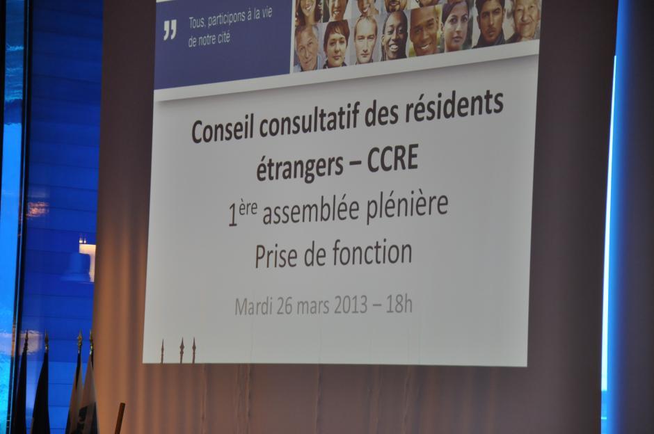 27 mars 2013 : Montpellier met en place son Conseil Consultatif des Résidants Etrangers (CCRE)