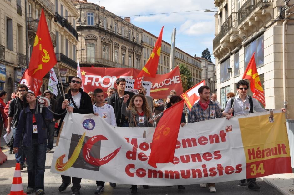 Manifestation du 9 avril contre l'ANI à Montpellier : la vidéo.