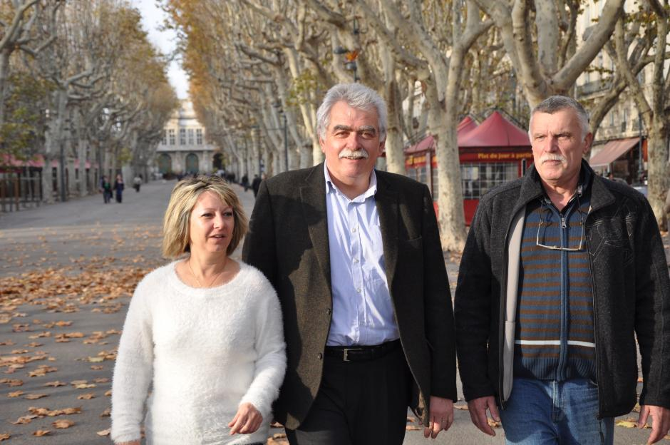 André Chassaigne à Béziers.