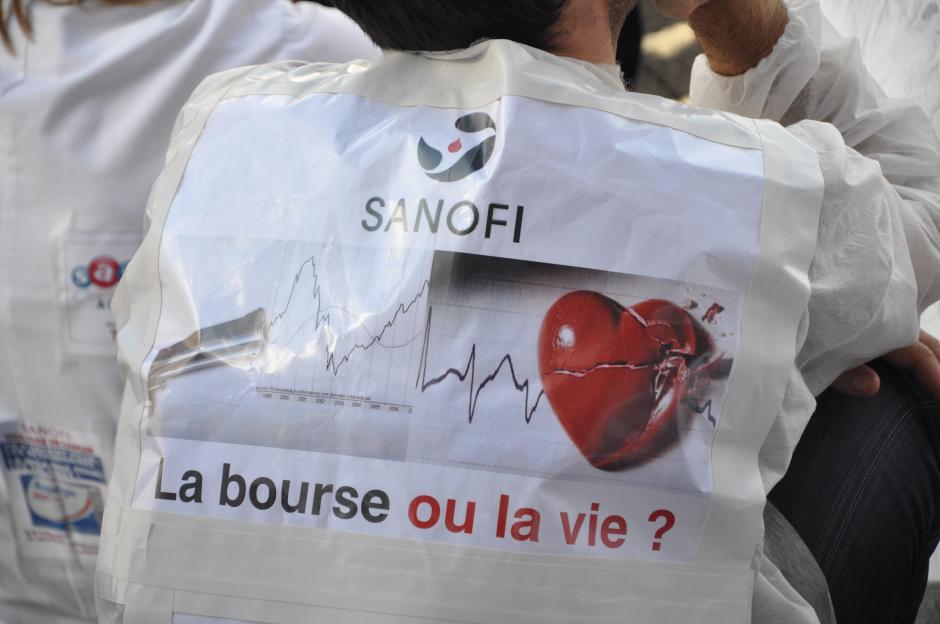 Situation sociale à Sanofi et dans la Recherche : lettre ouverte aux élus de l'Hérault