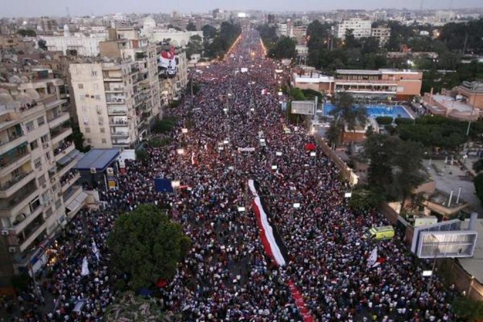 Egypte : Le PCF salue le courage et la détermination du peuple égyptien