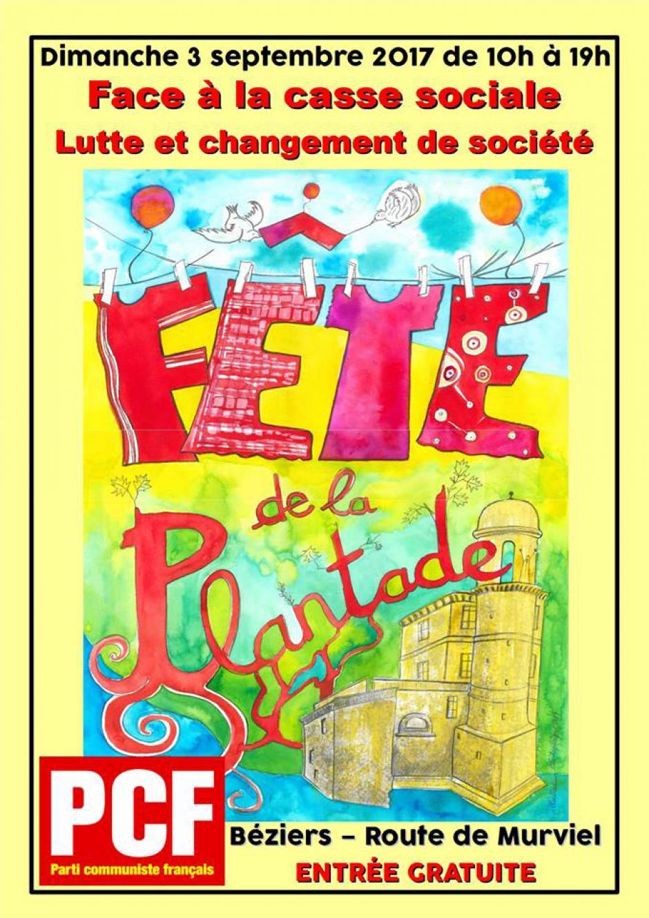 Béziers - fête de la Plantade
