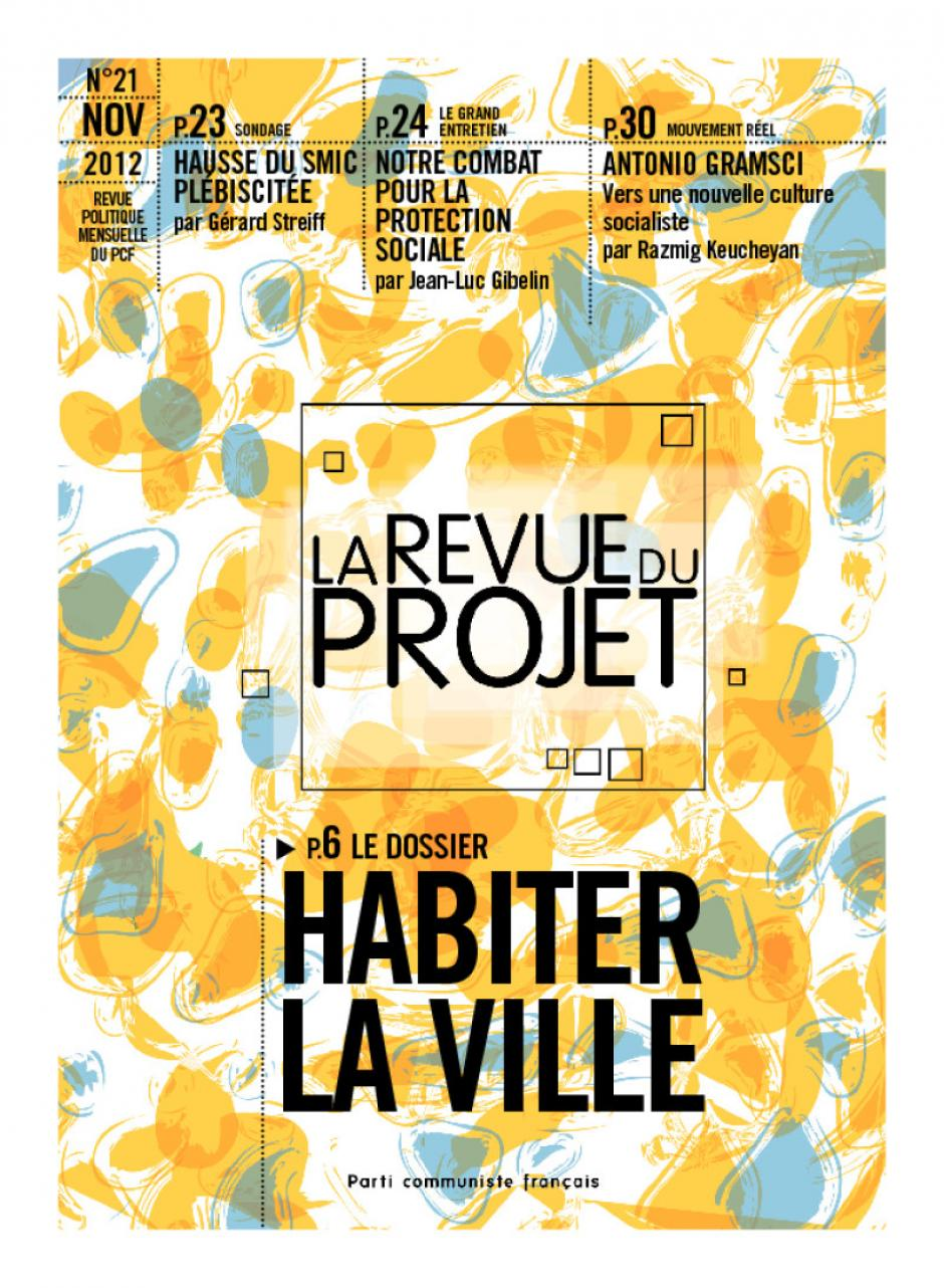 La revue du projet - Novembre 2012 : dossier