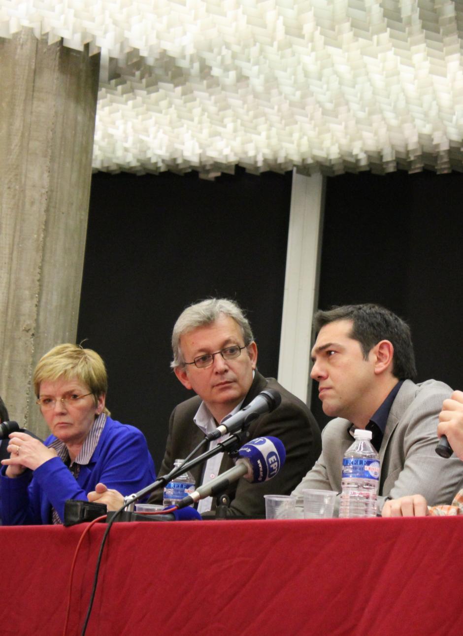 Une centaine de parlementaires de la gauche européenne se réunissent à Paris