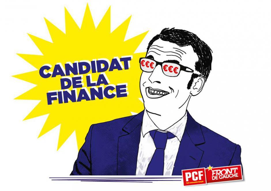 Candidature d'Emmanuel Macron : Réaction d'Olivier Dartigolles
