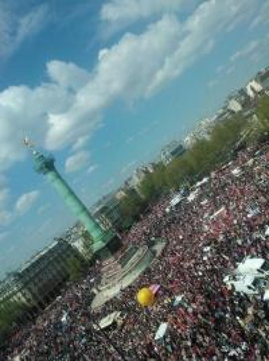 5 mai : le Front de gauche a réussi son pari, la Gauche européenne avec lui (PGE)