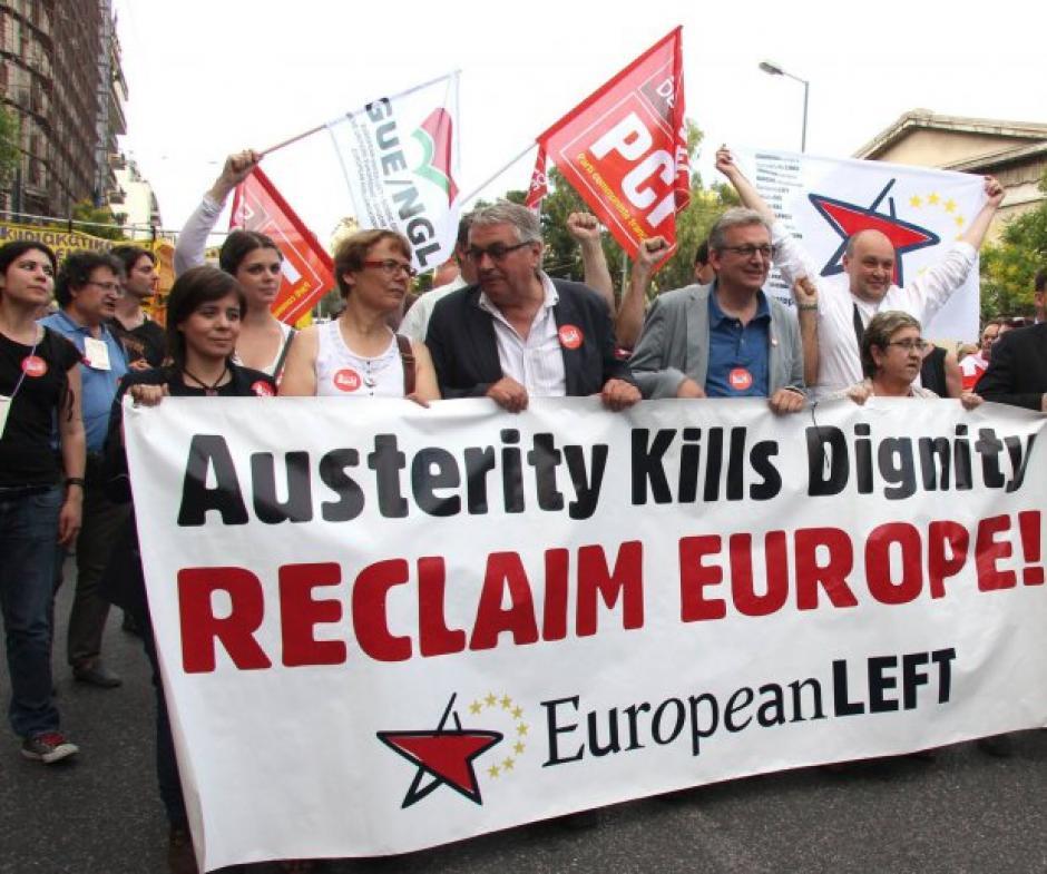 Le PGE se réjouit de l'énergique défense de la démocratie obtenue par le peuple Grec.