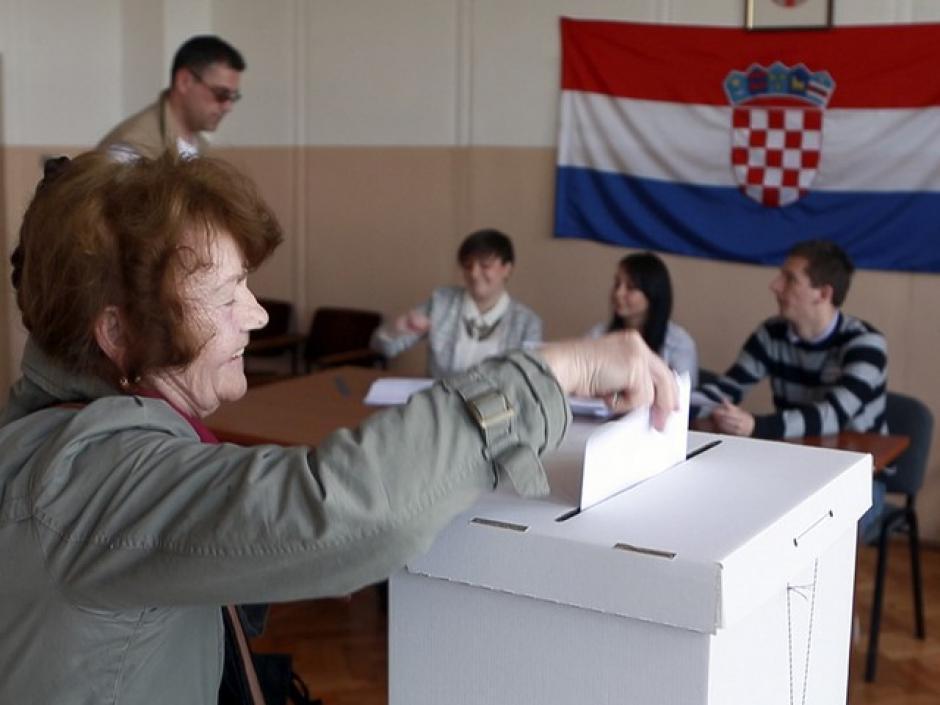 Eléctions européennes / Croatie :