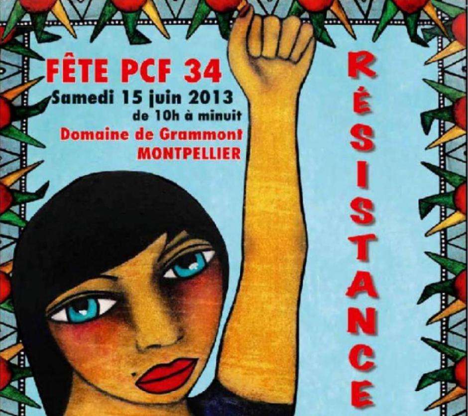 La fête fédérale du PCF 34 de juin 2013 en images...