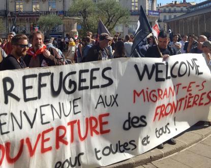 A Montpellier, la solidarité plus forte que la haine